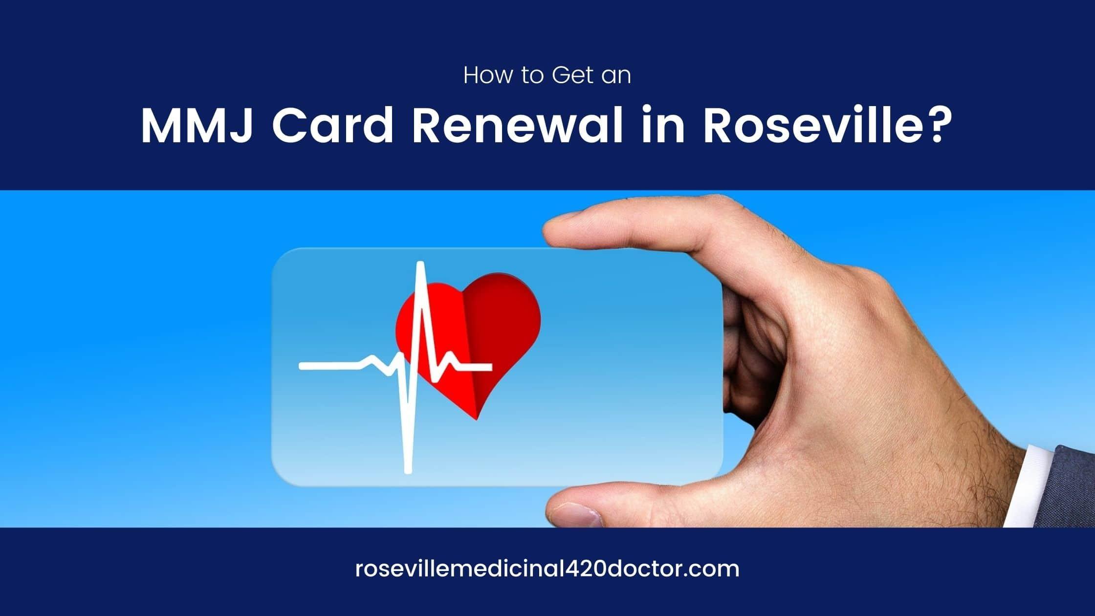MMJ Card Renewal